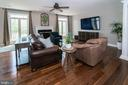 Family room/in wall surround sound - 17512 FLINT FARM DR, ROUND HILL