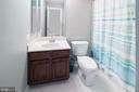 Basement full bath - 17512 FLINT FARM DR, ROUND HILL