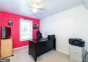 Bedroom #5 in lower level, used as office - 1709 FAIRLEIGH CT NE, LEESBURG