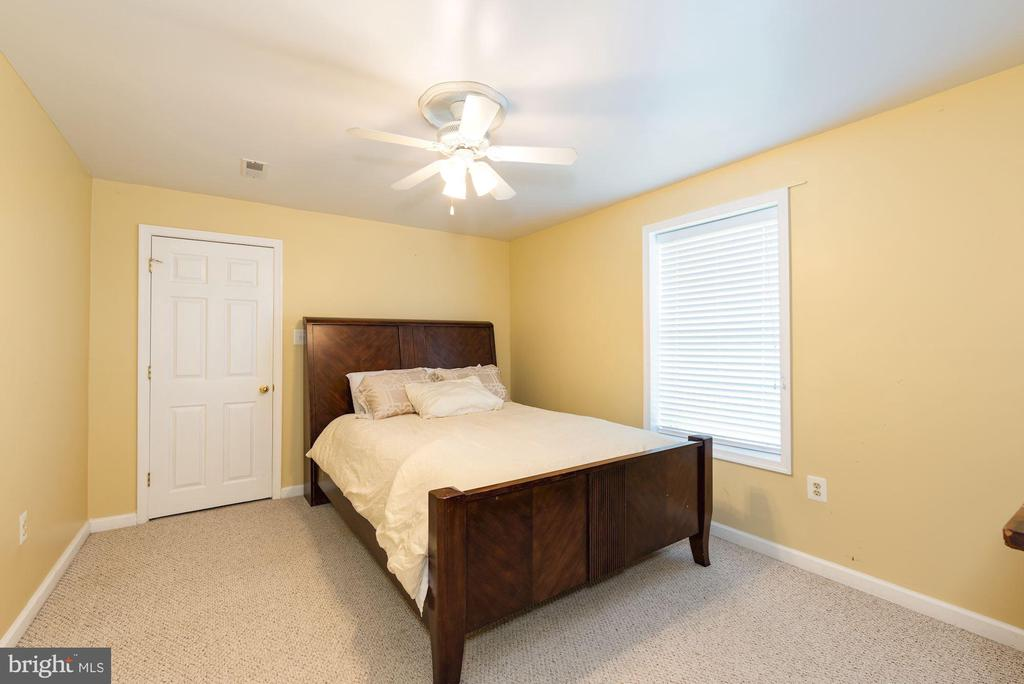 Bedroom #6 in lower level - 1709 FAIRLEIGH CT NE, LEESBURG