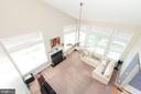 Upper level overlooking family room - 1709 FAIRLEIGH CT NE, LEESBURG