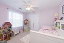 Bedroom #3. All bedrooms have ceiling fans! - 1709 FAIRLEIGH CT NE, LEESBURG