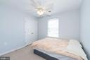 Bedroom #4... near upper level laundry! - 1709 FAIRLEIGH CT NE, LEESBURG