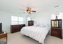 Master bedroom with 2 walk in closets! - 1709 FAIRLEIGH CT NE, LEESBURG