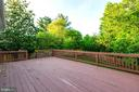 Deck - 46888 DUCKSPRINGS WAY, STERLING