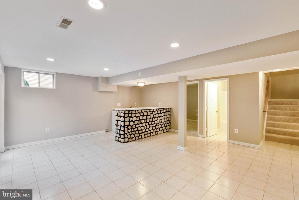 Lower Level Rec Room - 46888 DUCKSPRINGS WAY, STERLING
