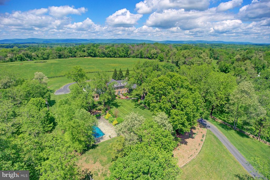 Views of the Blue Ridge Mountains - 22941 FOXCROFT RD, MIDDLEBURG