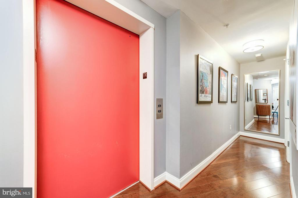 Private Elevator to Unit - 2501 WISCONSIN AVE NW #4, WASHINGTON