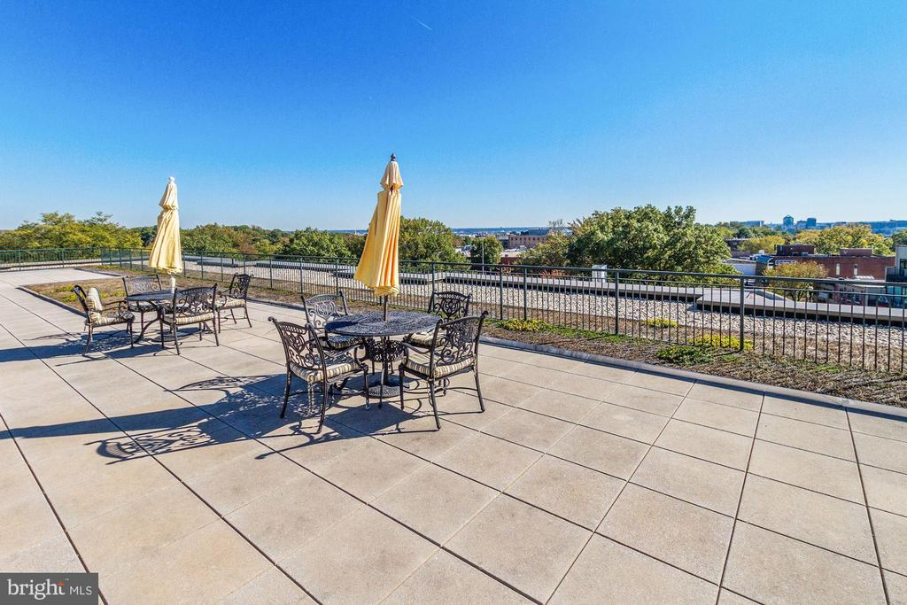 Rooftop Deck - 2501 WISCONSIN AVE NW #4, WASHINGTON