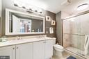 Master Bath - 2501 WISCONSIN AVE NW #4, WASHINGTON