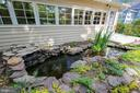 Beautiful Koi pond - 9220 COLUMBIA BLVD, SILVER SPRING