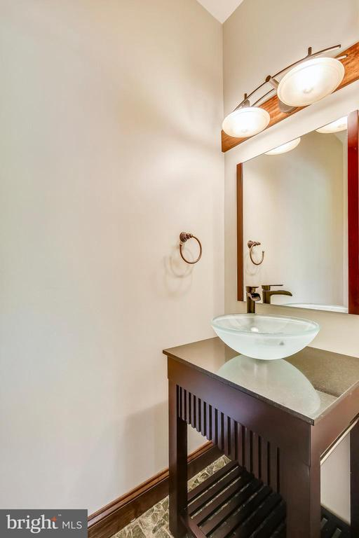 1/2 bath on first floor - 9220 COLUMBIA BLVD, SILVER SPRING