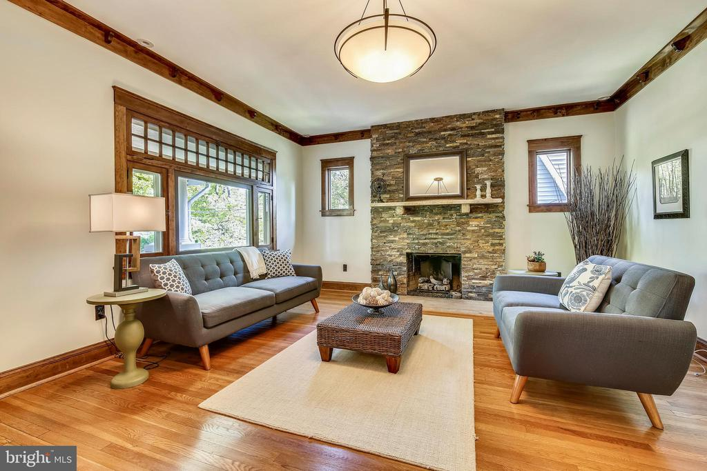 Large living room - 9220 COLUMBIA BLVD, SILVER SPRING