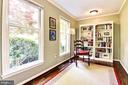 Main level library or den. - 3905 PICARDY CT, ALEXANDRIA