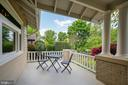 grand porch as you enter home - 9220 COLUMBIA BLVD, SILVER SPRING