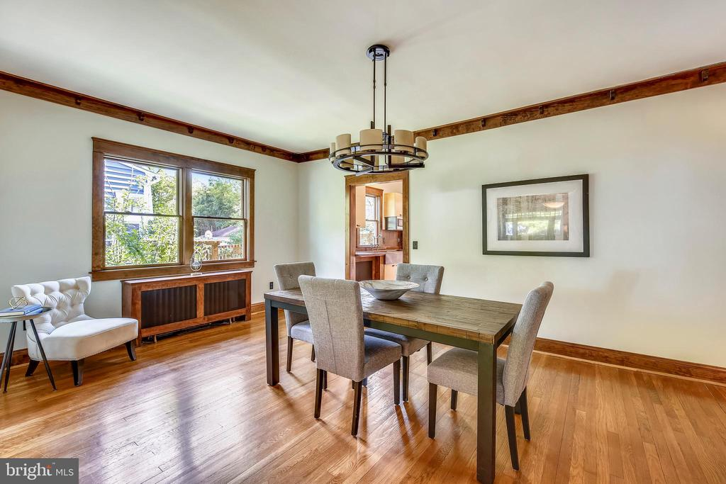 Large dining room - 9220 COLUMBIA BLVD, SILVER SPRING