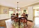 Formal living room w/ FP and multiple seating. - 3905 PICARDY CT, ALEXANDRIA