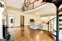Two Story Family Room with FP. - 3905 PICARDY CT, ALEXANDRIA