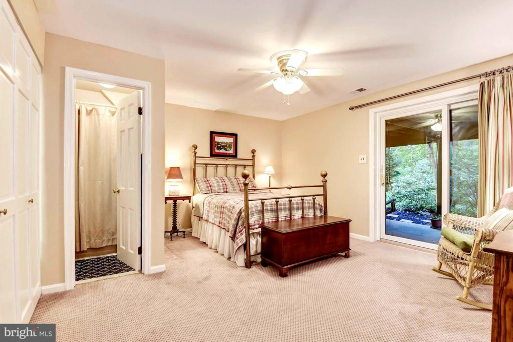 Lower guest Suite includes breakfast bar. - 3905 PICARDY CT, ALEXANDRIA