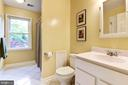 Upstairs hallway bathroom - 3905 PICARDY CT, ALEXANDRIA