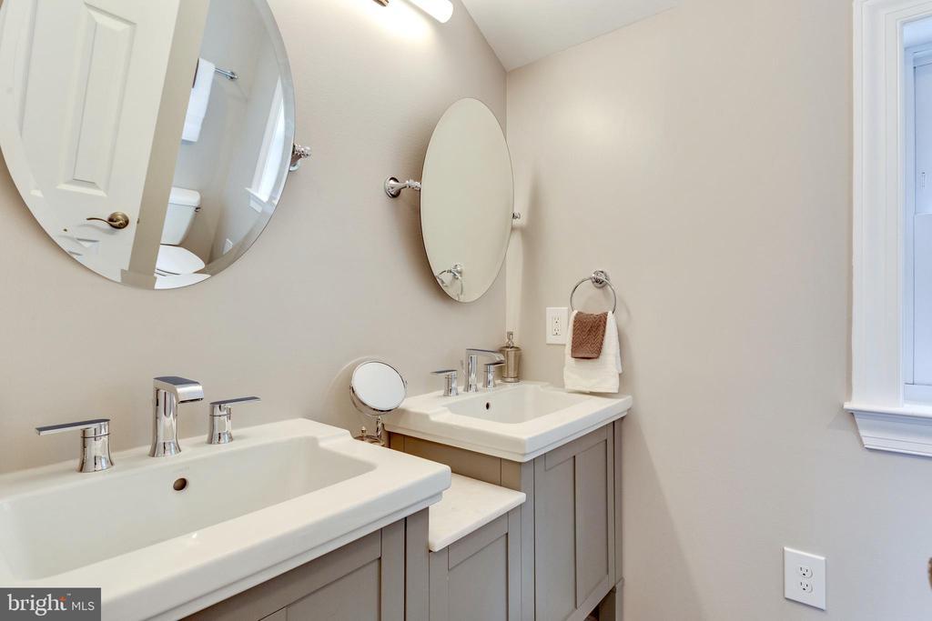Gorgeous Hall Bathroom - 5469 DAWES AVE, ALEXANDRIA