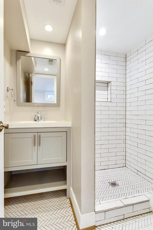 En Suite in lower level is so ideal! - 5469 DAWES AVE, ALEXANDRIA
