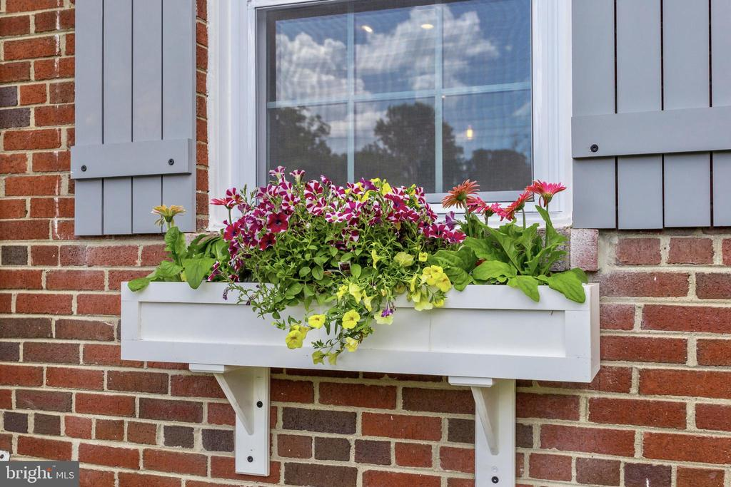 Custom Planter Boxes and Shutters - 5469 DAWES AVE, ALEXANDRIA