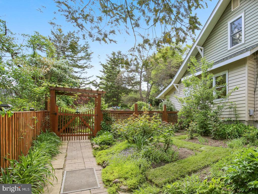 gardens throughout - 9220 COLUMBIA BLVD, SILVER SPRING