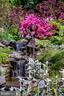 Waterfall fountain. - 11408 HIGHLAND FARM CT, POTOMAC