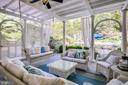 Easy gathering with a swing for summer evenings - 11408 HIGHLAND FARM CT, POTOMAC