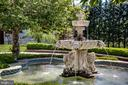 Welcoming Fountain for all of your guests. - 11408 HIGHLAND FARM CT, POTOMAC