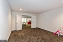 Basement media room - 1076 DECATUR RD, STAFFORD