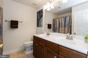 Guestroom bedroom 3 full bathroom - 1076 DECATUR RD, STAFFORD