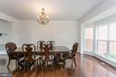 Dining Room - 1076 DECATUR RD, STAFFORD