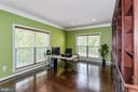Office/Library with build in shelves - 1076 DECATUR RD, STAFFORD