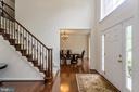 2 story Foyer - 1076 DECATUR RD, STAFFORD
