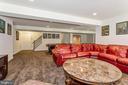Basement recreation room - 1076 DECATUR RD, STAFFORD