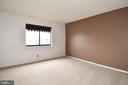 This brown wall has been painted since the photos. - 900 N STAFFORD ST #2328, ARLINGTON