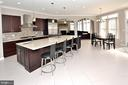 Gourmet Kitchen #1 - 7763 CAMP DAVID DR, SPRINGFIELD