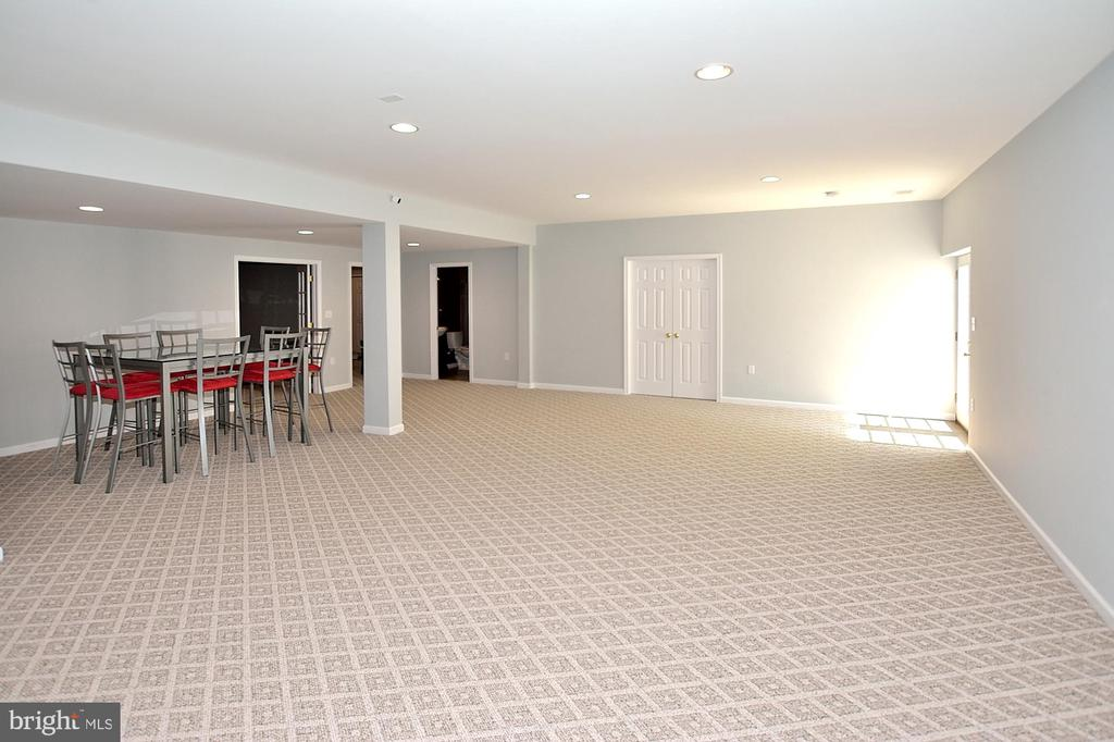Lower Level Recreation Room - 7763 CAMP DAVID DR, SPRINGFIELD