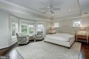Master Bedroom view #1 - 5211 CARLTON ST, BETHESDA