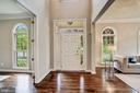 Freshly refinished hardwood floors - 43267 FIELDSVIEW CT, LEESBURG