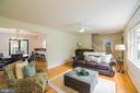 Living room - 2815 CREST AVE, CHEVERLY