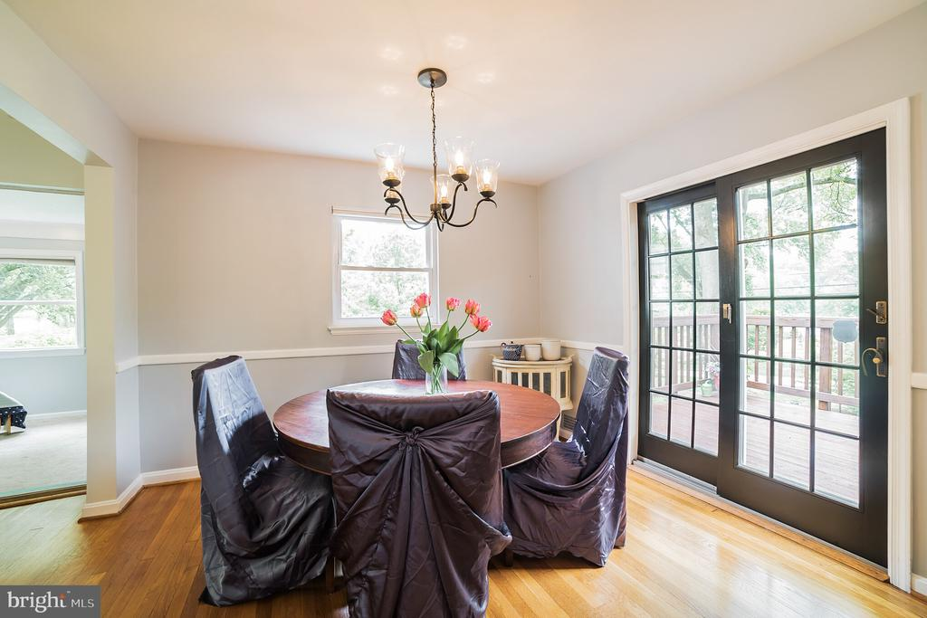 Dining room - 2815 CREST AVE, CHEVERLY