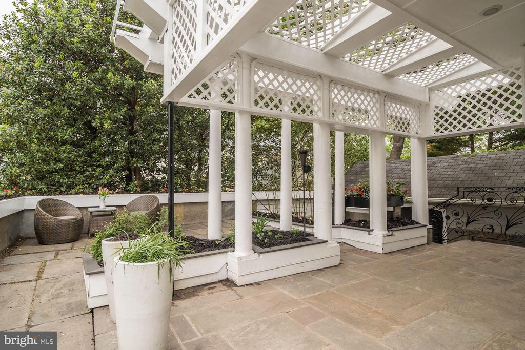 Outdoor Entertaining Patio - 4409 WALSH ST, CHEVY CHASE
