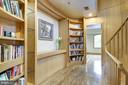 Library Alcove on 2nd Floor - 4409 WALSH ST, CHEVY CHASE