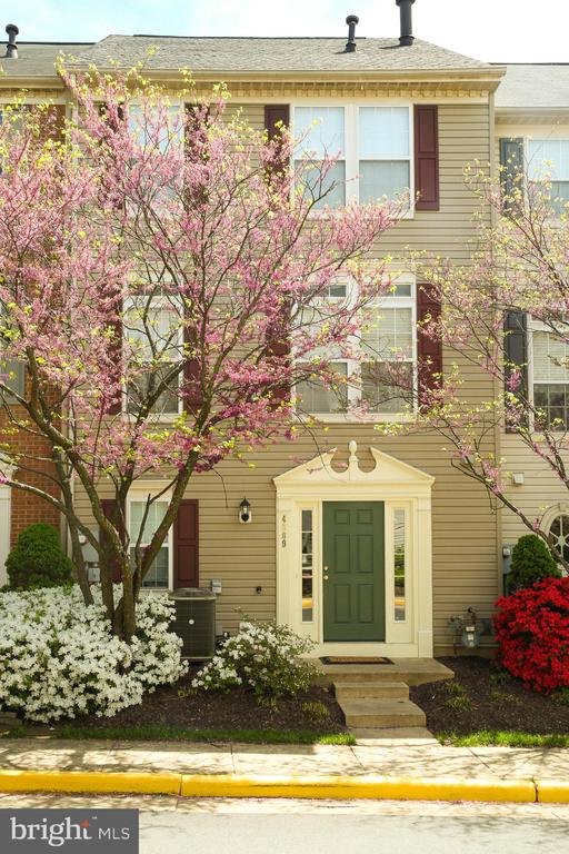 Beautiful Front with Blooming Trees - 4309 STEVENS BATTLE LN, FAIRFAX