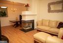 Open Living Rm  w/ Fireplace - 4309 STEVENS BATTLE LN, FAIRFAX