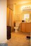 Upstairs Hall Bath Ceramic Floors - 4309 STEVENS BATTLE LN, FAIRFAX