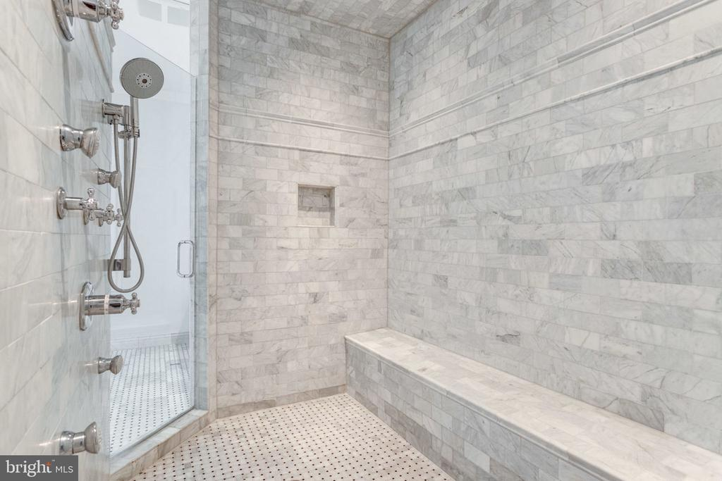Large spa shower - 8704 STANDISH RD, ALEXANDRIA